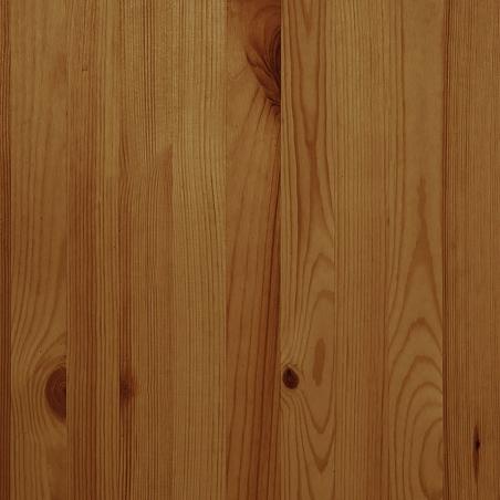 Canapé-lit en bois massif poli
