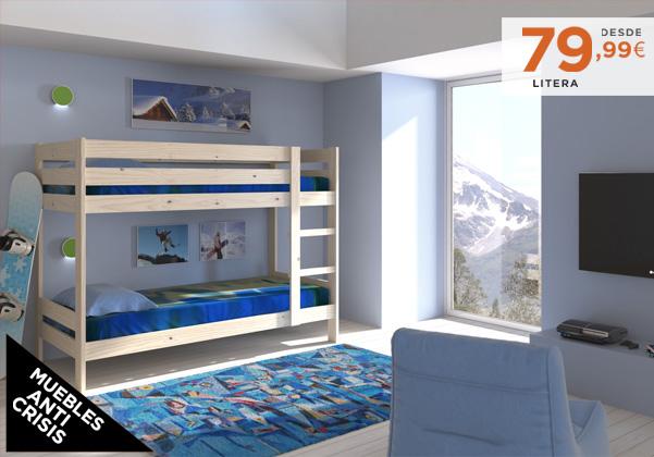 Muebles lufe cama nido 20170827183733 for Muebles de oficina ibague