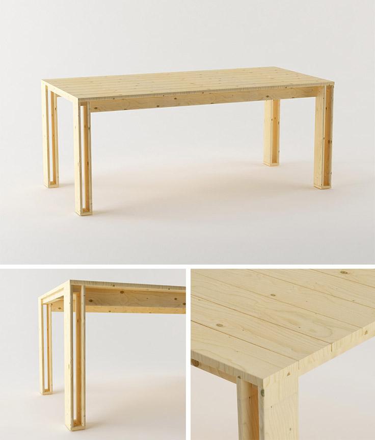 Descubre las nuevas mesas de muebles lufe mesa arina for Muebles lufe