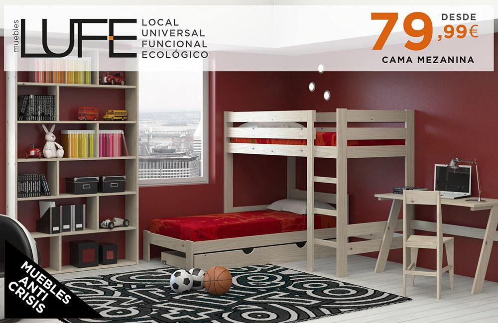 Muebles lufe cama nido 20170827183733 for Muebles lufe
