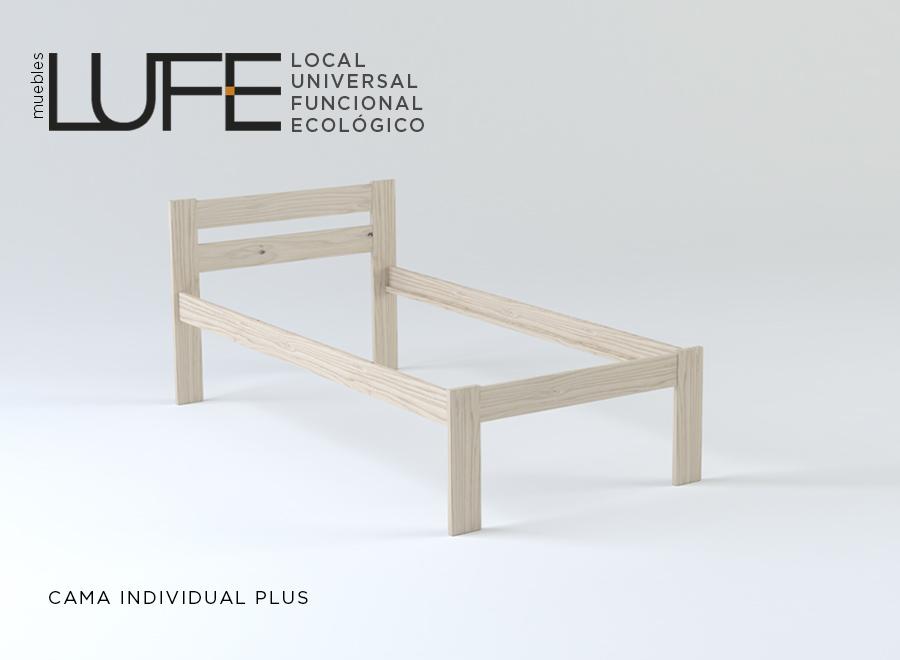 Camas plus elevando el nivel de comodidad for Muebles lufe