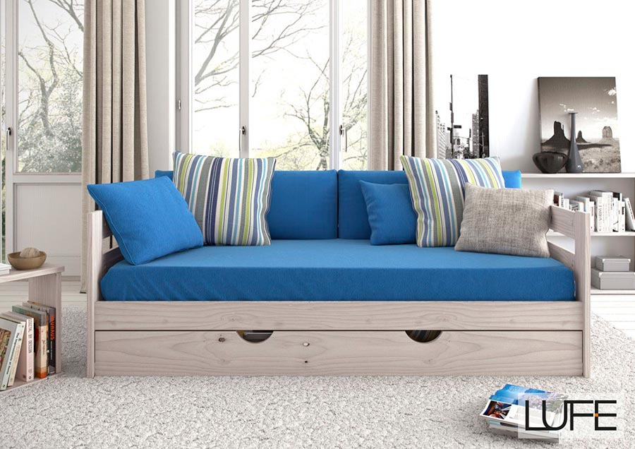 comprar sof cama barato de madera ecol gica pulida