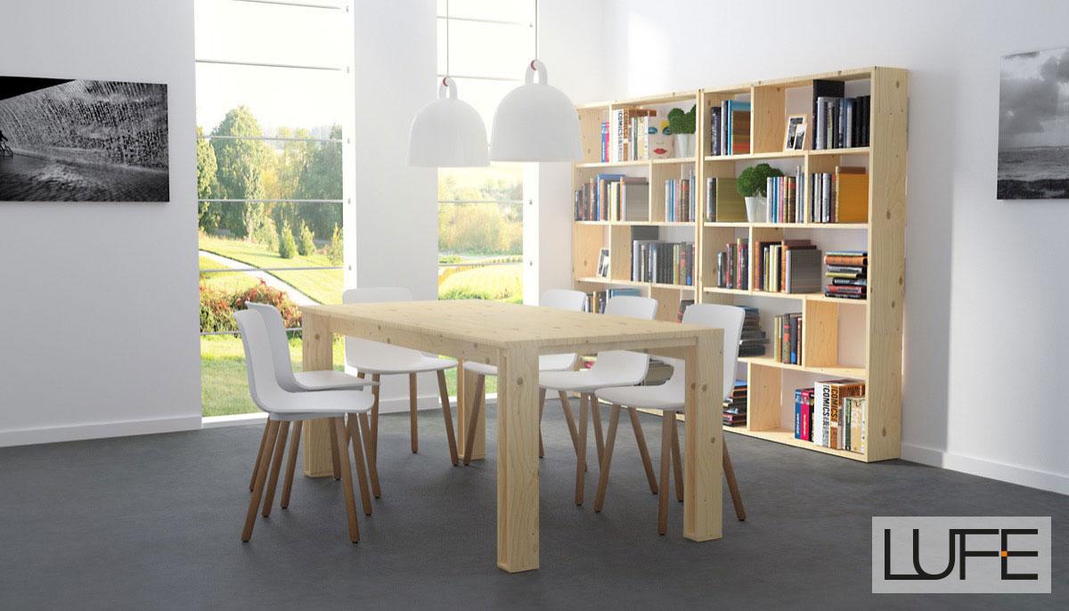 Comedores de madera baratos comedor madera mesa comedor - Muebles madera baratos ...
