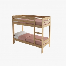 Cabecero 4 lamas cama 90 - Habitaciones infantiles - Muebles LUFE