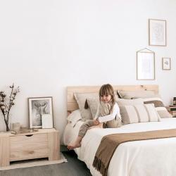 Cabecero 9V cama matrimonio - Cabeceros - Muebles LUFE