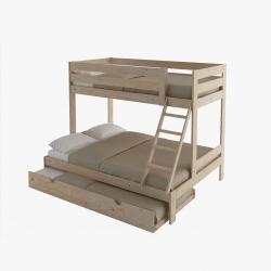 Cama nido sofá completa con respaldo - Camas nido - Muebles LUFE
