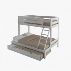 Cama sofá completa con respaldo y cajón - Renueva tu dormitorio con nuestras camas y literas - Muebles LUFE