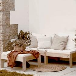 Colchón de 190x90 en 21 de espesor - Colchones y almohadas - Muebles LUFE
