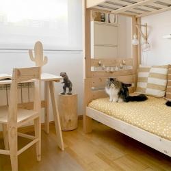 Cajón doble de almacenaje cama 90/105 - Nueva Serie 105 - Muebles LUFE