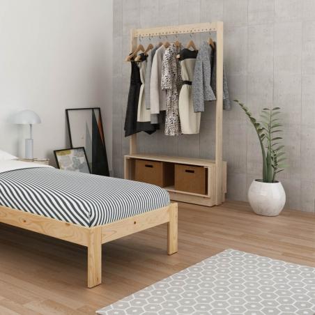 Baúl de almacenaje tapizado - Muebles LUFE
