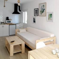 Bancada cama 80 con lamas - Serie 80 - Muebles LUFE
