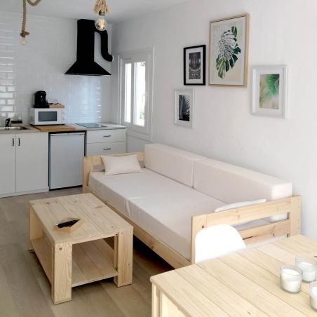 Comprar Bancada cama 80 con lamas - Muebles LUFE