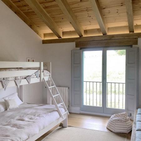 Estructura de cama 105 - Muebles LUFE