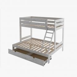 Cama 105 con lamas - Renueva tu dormitorio con nuestras camas y literas - Muebles LUFE