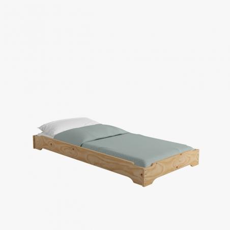 Cabecero 4 lamas cama 105 - Muebles LUFE