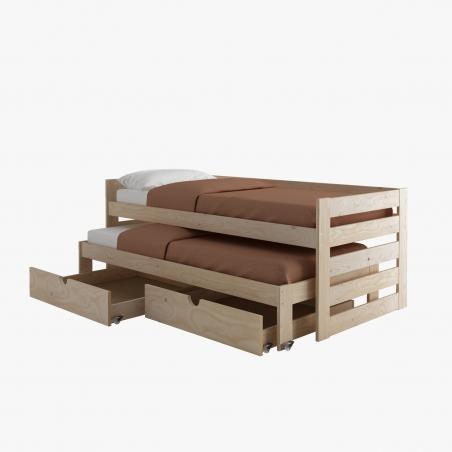 Comprar Estructura de cama 105 - Muebles LUFE