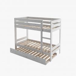 Cama 105 con colchón - Renueva tu dormitorio con nuestras camas y literas - Muebles LUFE