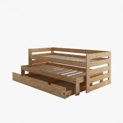 Estructura de bancada 105 - Camas individuales - Muebles LUFE