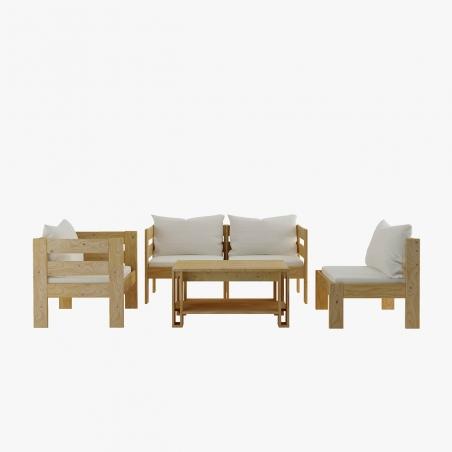 Estructura de cama 90 - Muebles LUFE