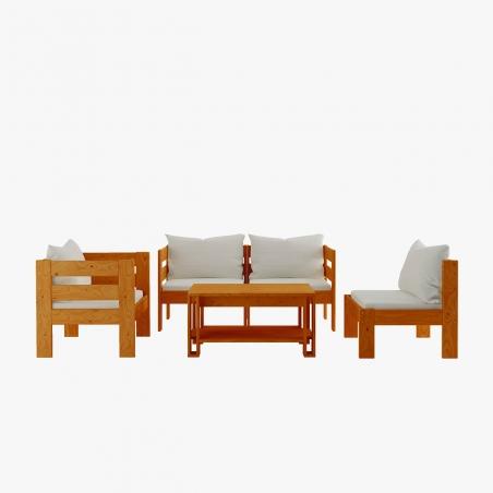 Estructura de cama compacta - Muebles LUFE