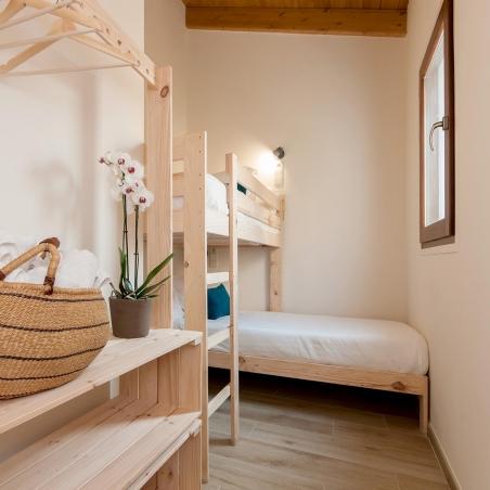 Cama compacta con lamas - Muebles LUFE