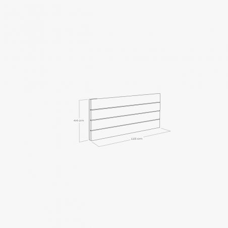 Cama sofá con lamas y cajón de almacenaje - Muebles LUFE