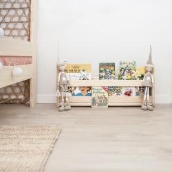 Ambiente cama de matrimonio con mesillas - Dormitorios de matrimonio - Muebles LUFE
