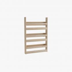Ambiente estanterías asimétricas y básicas I - Salones modernos - Muebles LUFE