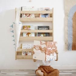 Ambiente estanterías asimétricas y básica II - Salones modernos - Muebles LUFE