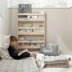 Ambiente mesa y estanterías  - Salones modernos - Muebles LUFE