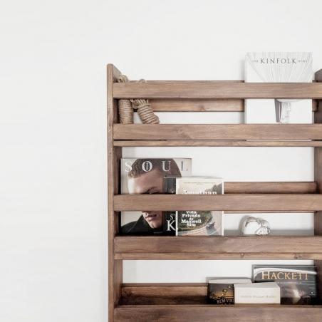 Ambiente cama individual con perchero - Muebles LUFE