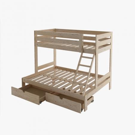 Ambiente mesa y bancos de comedor - Muebles LUFE
