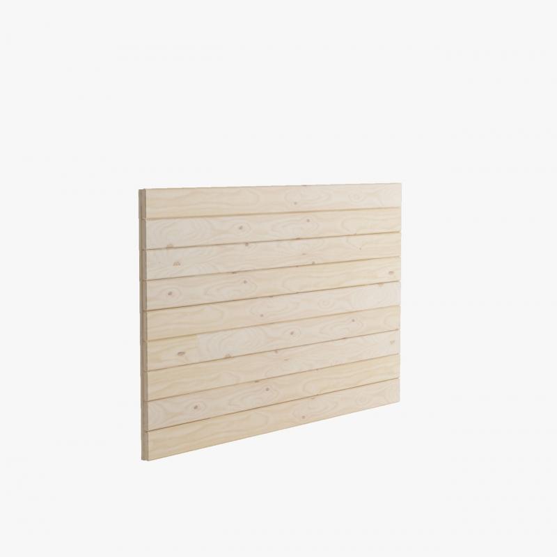 Estanter a de madera barata alta de 40 cm para libros - Baldas y estanterias ...
