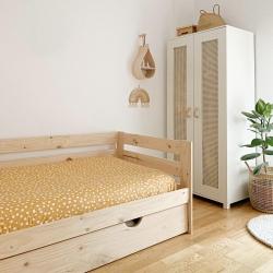Cama compacta completa y cajón largo - Camas compactas - Muebles LUFE