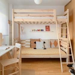 Cama 90 con lamas - Camas individuales - Muebles LUFE