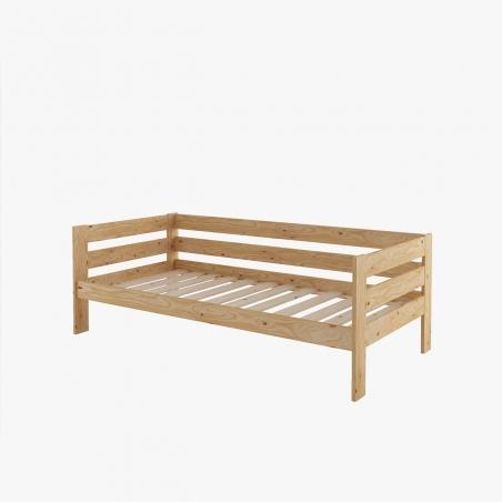 Cama 90 con colchón - Muebles LUFE