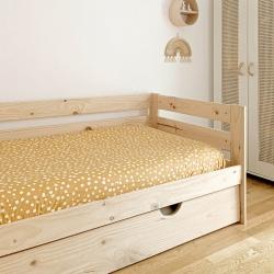 Cama de matrimonio con lamas y cajones - Renueva tu dormitorio con nuestras camas y literas - Muebles LUFE