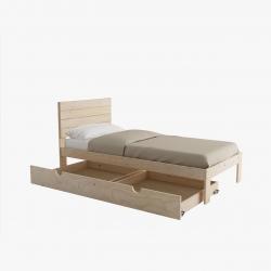 Triolo con lamas y dos cajones - Renueva tu dormitorio con nuestras camas y literas - Muebles LUFE