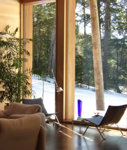 indubrik_muebles_madera_maciza_blog_villa_du_lac_castor_francia_pierre_thibault_vivienda_troncos_madera_interior_2