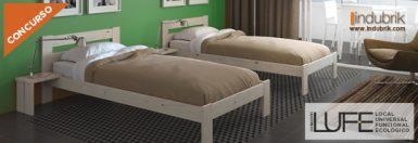 concurso cama individual muebles lufe