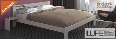 concurso cama doble muebles lufe