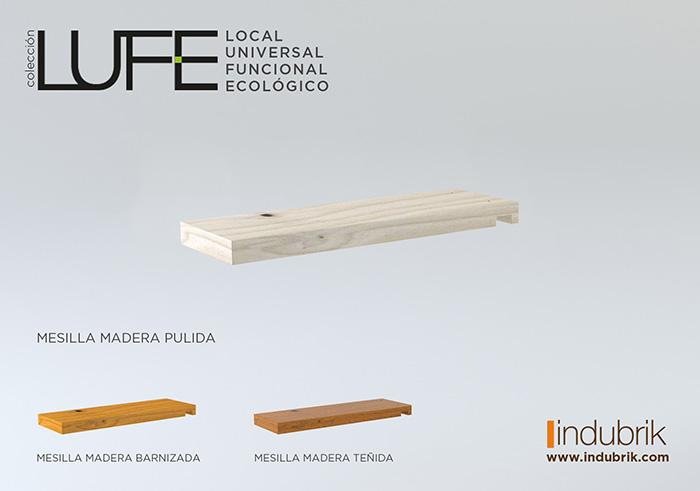 coleccion LUFE mesilla muebles indubrik