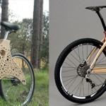 10 bicis ecológicas realizadas en madera.