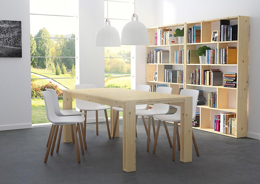 descubre las nuevas mesas de muebles lufe mesa arina