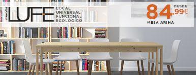 nueva gama mesa atina muebles lufe