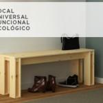 Banco ARINA, el mueble ideal para combinar con la Mesa ARINA.