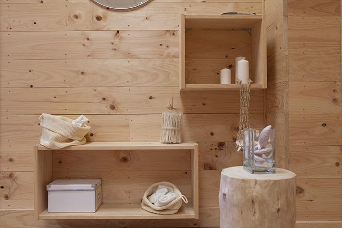 showroom exposición de los productos de muebles lufe