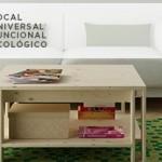 Mesa de centro ARINA y mesa auxiliar por Silvia Ceñal.