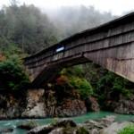 Sorprendentes puentes de madera de 1.000 años en China.