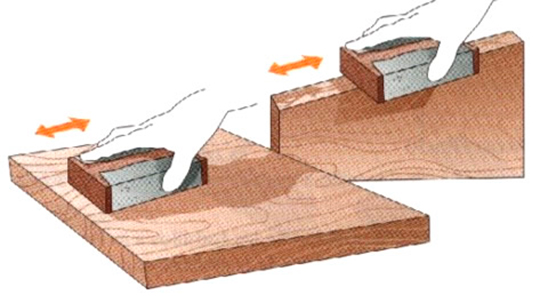 Madera - Como lijar madera ...